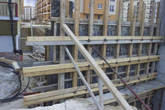 Concrete formwork Royalty Free Stock Photography
