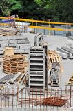 Concrete formwork Stock Photo