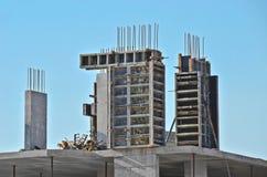 Concrete formwork and floor beams Royalty Free Stock Photos