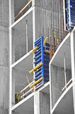 Concrete formwork and floor beams Royalty Free Stock Images
