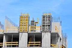 Concrete formwork Royalty Free Stock Photo