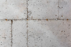 Concrete Foundation of a New Home Royalty Free Stock Image