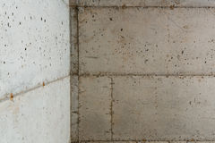 Concrete Foundation of a New Home Royalty Free Stock Images