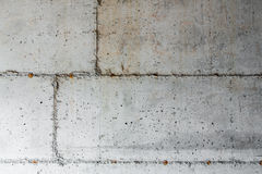 Concrete Foundation of New Home Stock Photography
