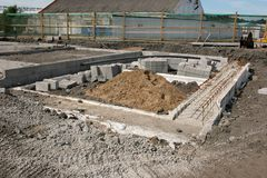 Free Concrete Foundations Stock Image - 3385021