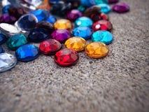 Concrete gems Stock Photography