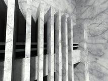 Concrete geometrische architectuur Abstract modern stedelijk concept Stock Fotografie