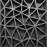 Concrete geweven de muurachtergrond van het poligonpatroon Stock Afbeeldingen