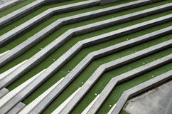 Concrete grandstand terrace Royalty Free Stock Image