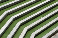 Concrete grandstand terrace Stock Photos