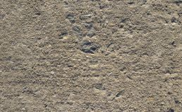 Concrete and gravel texture Stock Images