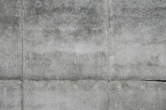 Concrete gray wall Royalty Free Stock Images