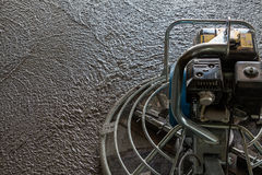 Concrete grinding process. Concrete wet grinding process background Royalty Free Stock Photos