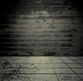Concrete grunge room Stock Image
