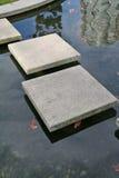 Concrete het Stappen Weg Stock Foto's