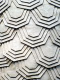 Concrete hex structure Stock Photography