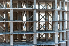 Concrete Highrise Construction Site Royalty Free Stock Image