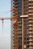 Concrete Highrise Construction Site Stock Image