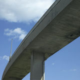 Concrete Highway Viaducts Stock Image