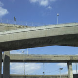 Concrete Highway Viaducts Royalty Free Stock Photo