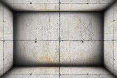 Concrete industrial interior backdrop Stock Photo