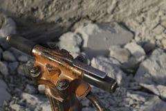 Concrete jack hammer Royalty Free Stock Image