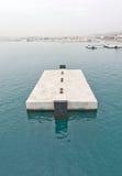 Concrete jetty block Royalty Free Stock Photos