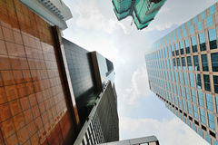 Concrete Jungle of Kuala Lumpur Royalty Free Stock Photo