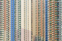 Concrete jungles of hong kong Stock Photography