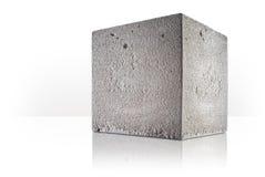 Concrete kubus royalty-vrije stock foto