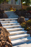 Concrete Landscape Stairs Royalty Free Stock Photos