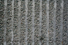 Concrete lines. Rough concrete with smooth lines Stock Image
