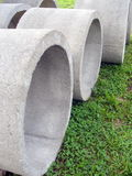 Concrete Manhole Sections Royalty Free Stock Image