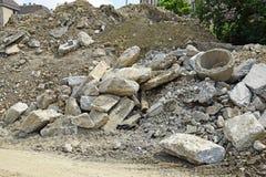 Concrete materials Royalty Free Stock Photos
