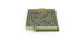 Concrete maze Royalty Free Stock Photo