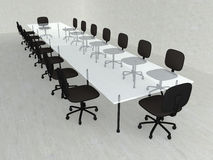 Concrete Meeting room Stock Photography