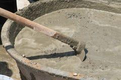 Concrete mengeling Royalty-vrije Stock Foto