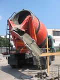 Concrete mixer Stock Foto
