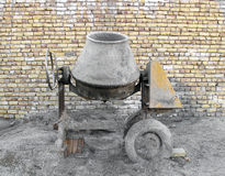 Concrete mixer Royalty Free Stock Photos