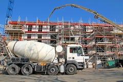 Concrete_mixer Imagem de Stock