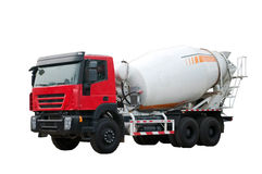 Concrete mixer Royalty Free Stock Images