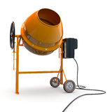 Concrete mixer Stock Photo