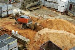 Concrete mixer. Stock Fotografie