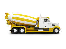 Concrete mixer vector illustration