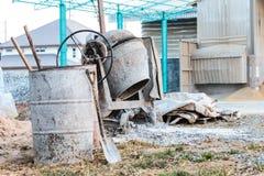 Concrete mixer Stock Images