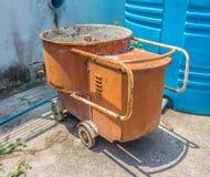 Concrete Mixer car Stock Image
