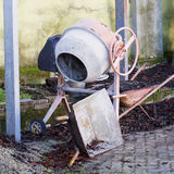 Concrete mixer, entire view Stock Photo
