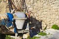Concrete mixer Stock Photography