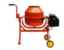 Concrete mixer Royalty Free Stock Image