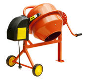 Concrete mixer Stock Image
